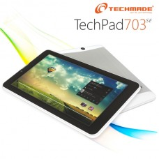 "TABLET TECHMADE PAD-703 7"" 4GB DUAL CORE WI-FI + 3G DUOS BLACK/SILVER ITALIA"