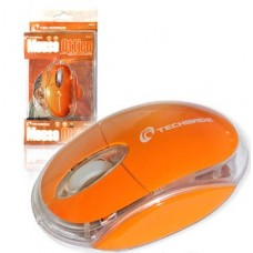 MOUSE OTTICO USB TECHMADE TM-2023-OR ORANGE